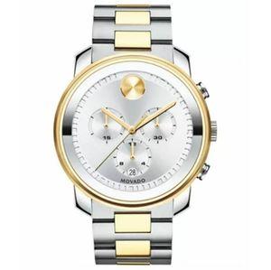 Authentic Movado Bold Chrono Two-Tone Watch